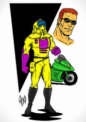 Condor from M.A.S.K. by violencejack666