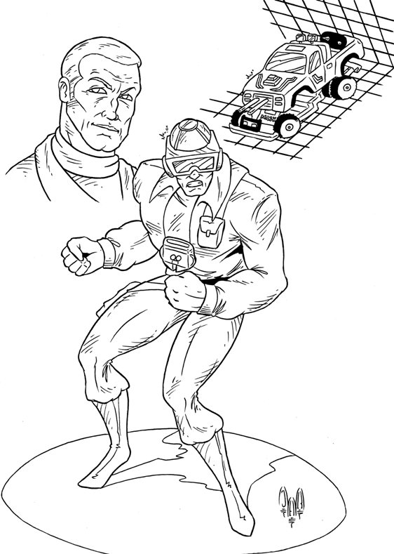 Hondo Maclean from M.A.S.K. by violencejack666