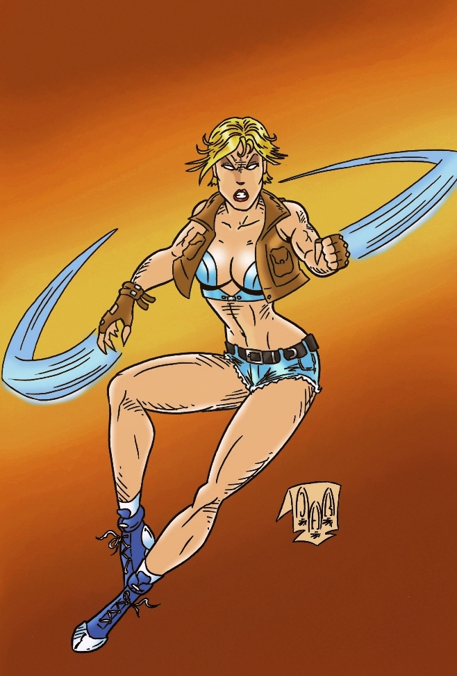 Lucia from Final Fight 3 by violencejack666