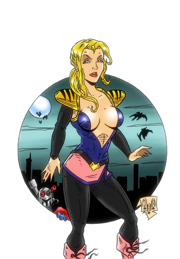 Lady Frenzy from Bots Masters by violencejack666