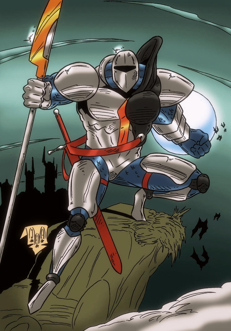 Lancelot by violencejack666