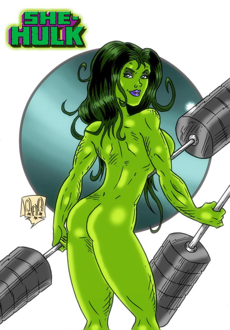 She Hulk by violencejack666