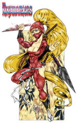 Kunoichi from The Ninja Warriors by violencejack666