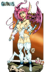 Elain Shee Fairy from Gaiapolis by violencejack666