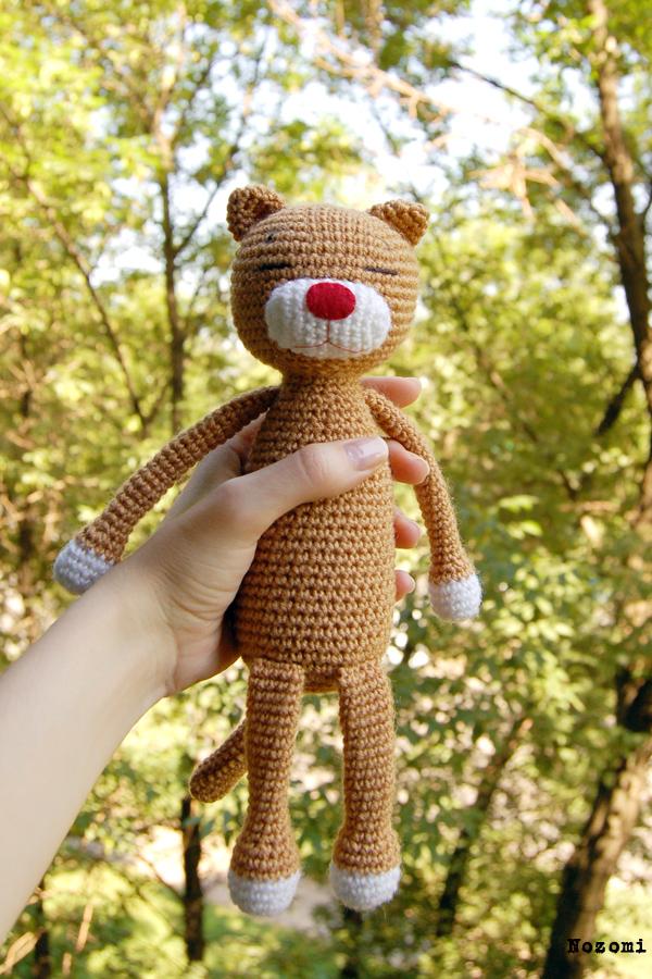 Crochet cat amigurumi amineko rainbow cat | Etsy | 900x600