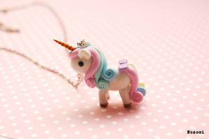 Unicorn zefirka (marshmallow) by Nozomi21