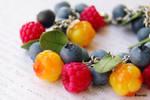 Raspberry blueberry cloudberry