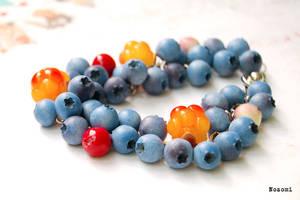 Blueberries cranberries cloudberries