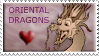 Oriental Dragons stamp by Stepharuka