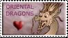 Oriental Dragons stamp by Stepharuka
