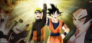 Heroes de Shonen Naruto y Goku