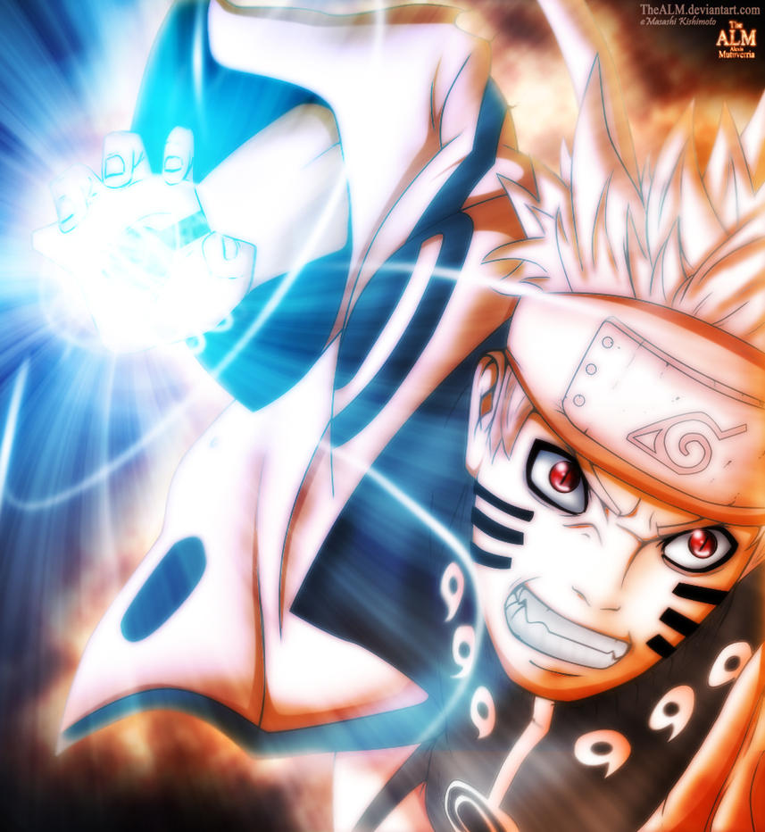 Naruto Bijuu Rasengan 598 By TheALM On DeviantArt