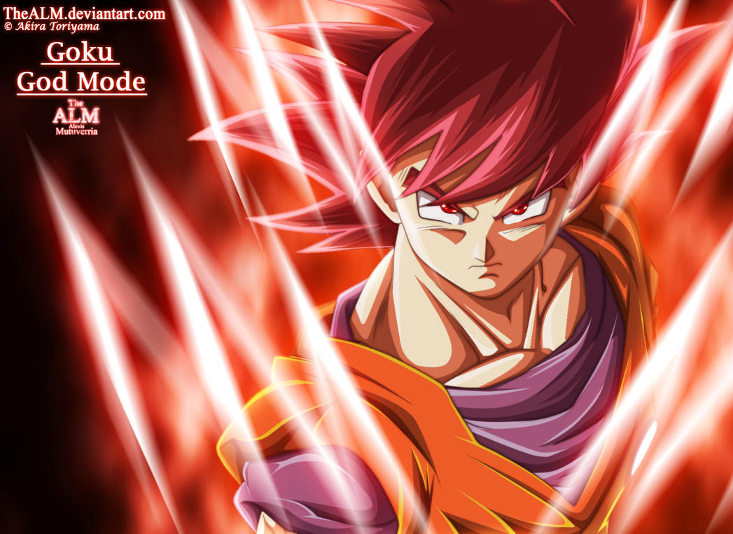 Goku God Mode by TheALM on DeviantArt