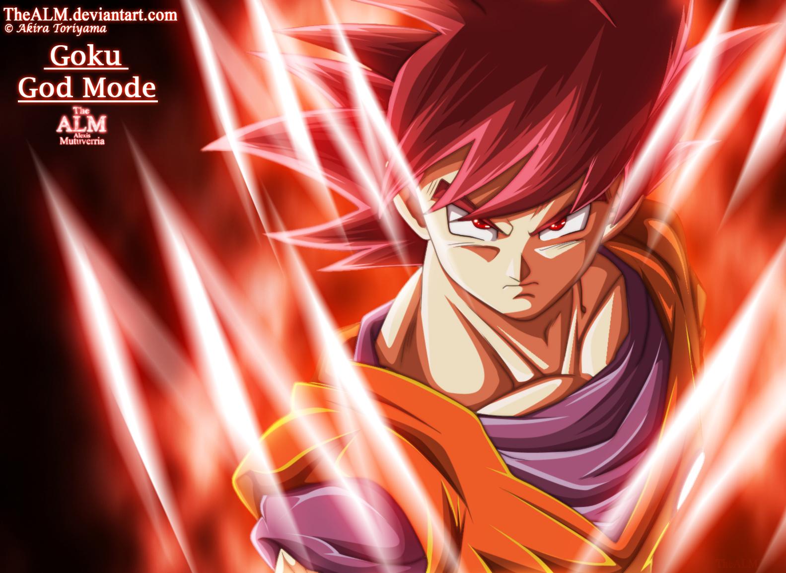 Goku God Mode by TheALMGoku