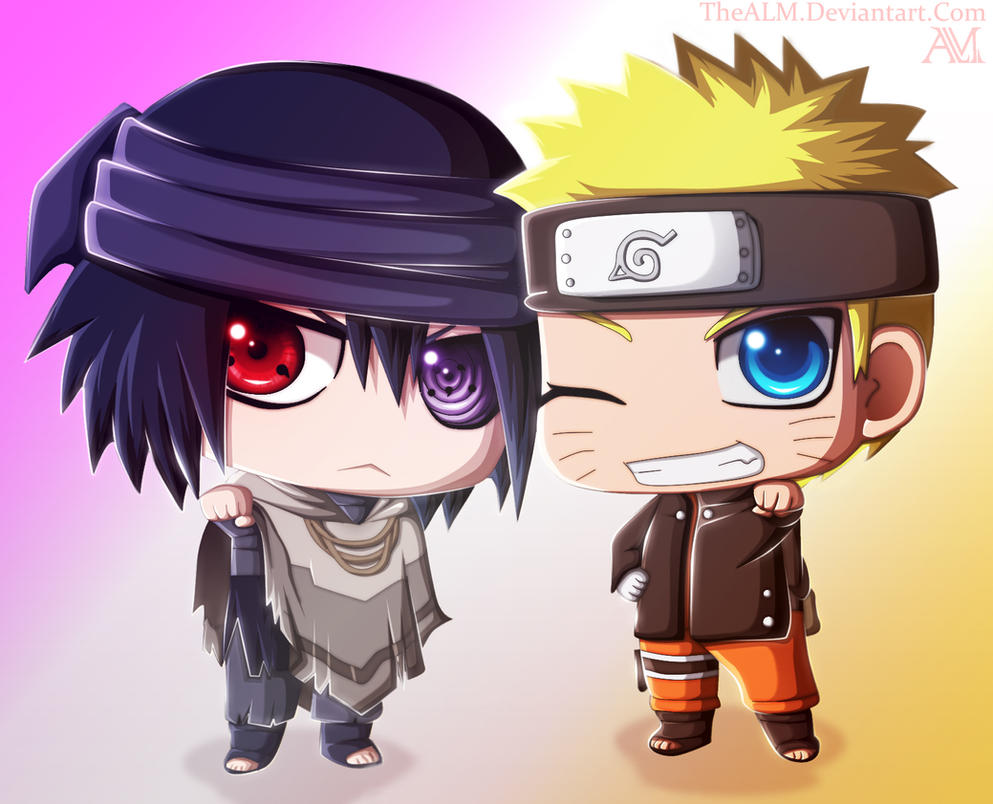 Naruto sasuke chibi the last by thealm on deviantart - Naruto chibi images ...
