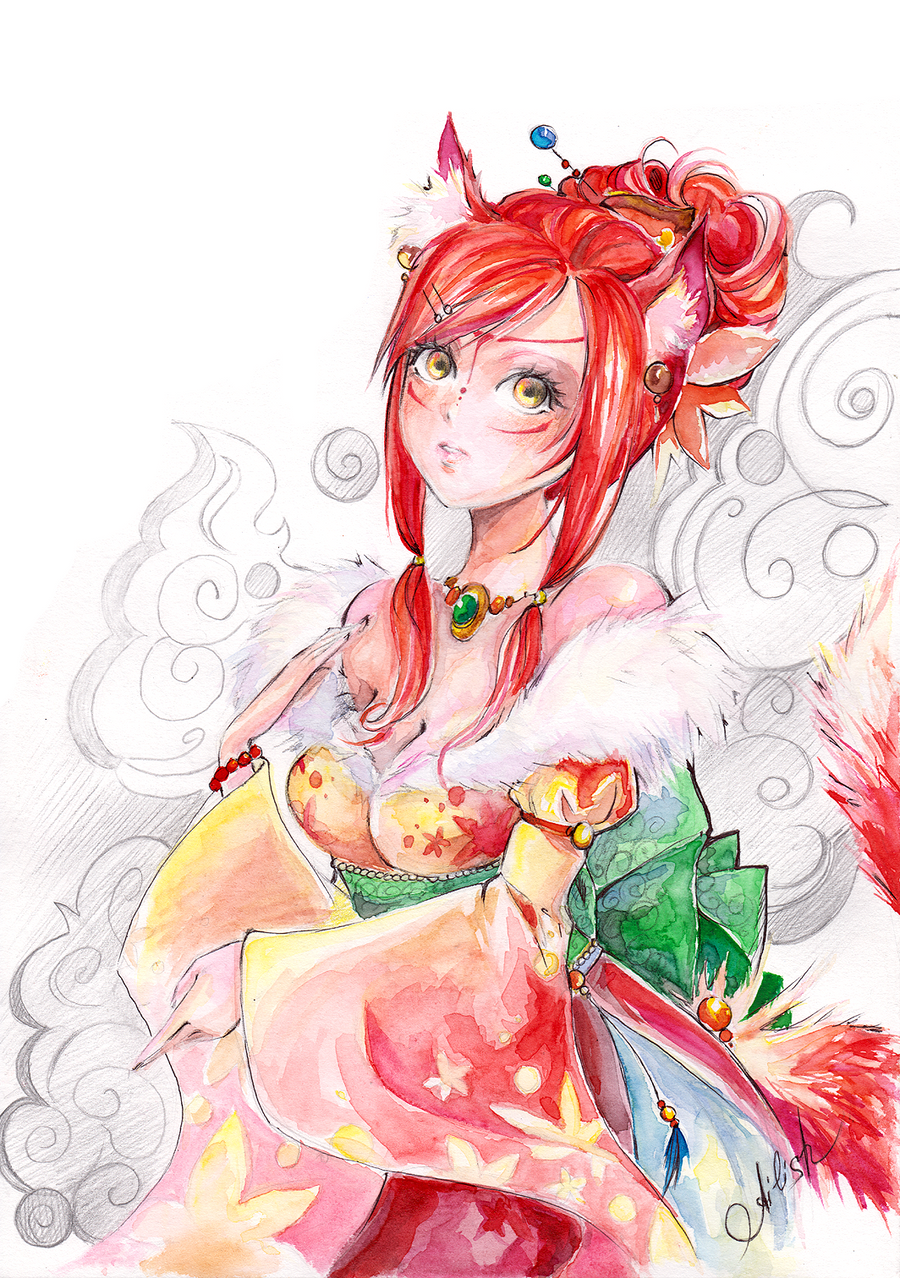 Kitsune by Princess--Ailish