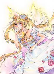 Sailor Moon - Princess Serenity by Princess--Ailish