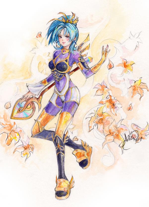 Sudeki: Ailish by Princess--Ailish
