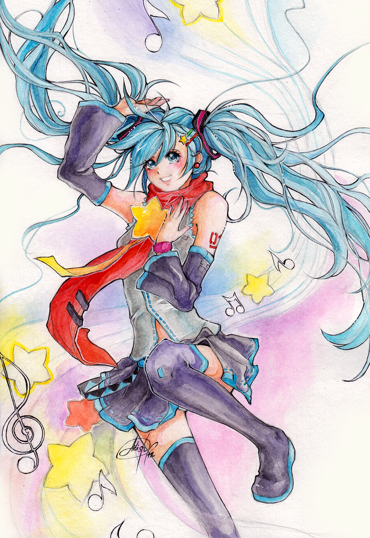 Hatsune Miku by Princess--Ailish