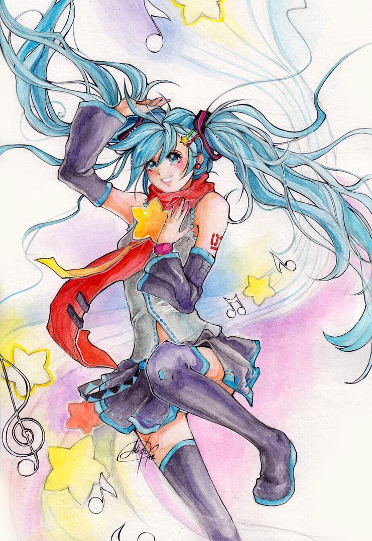 Hatsune Miku by Princess--Ailish