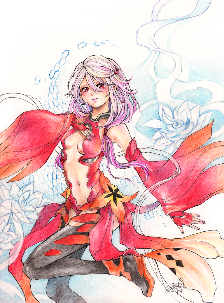 Guilty Crown: Inori Yuzuriha by Princess--Ailish