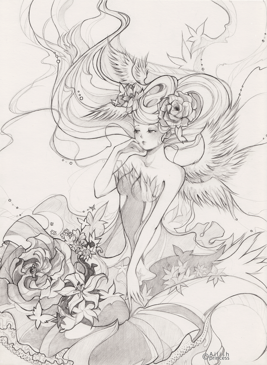 Angel by Princess--Ailish