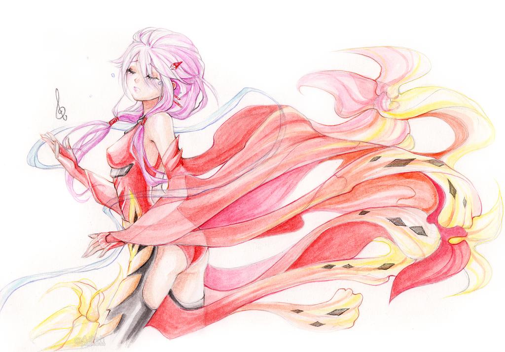 Inori Yuzuriha by Princess--Ailish
