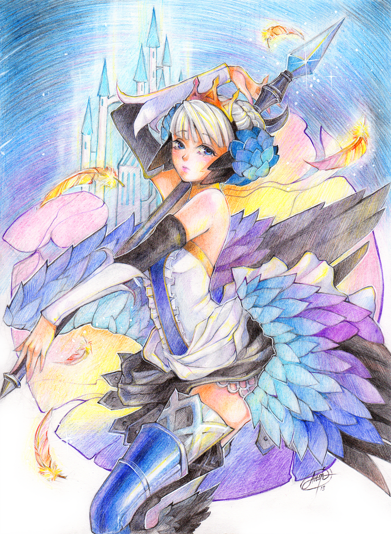Odin Sphere_Gwendolyn by Princess--Ailish