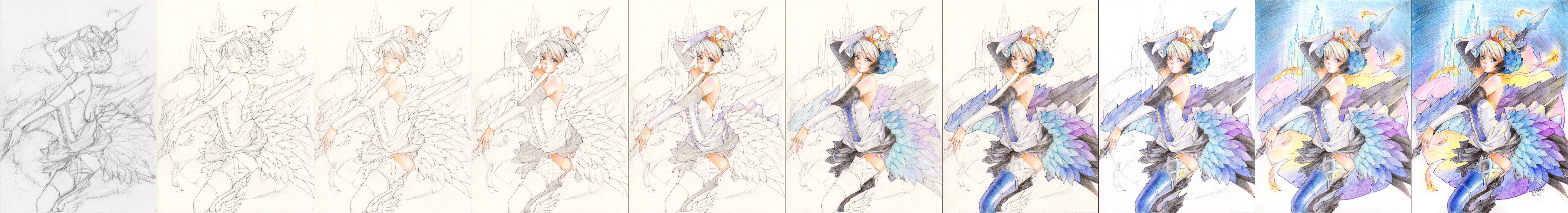 Gwendolyn: Process by Princess--Ailish