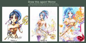 Draw this again: Ailish by Princess--Ailish