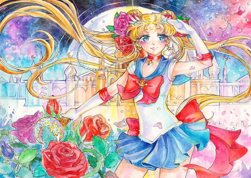 Sailor Moon Crystal by Princess--Ailish