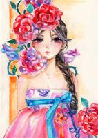 Hanbok by Princess--Ailish