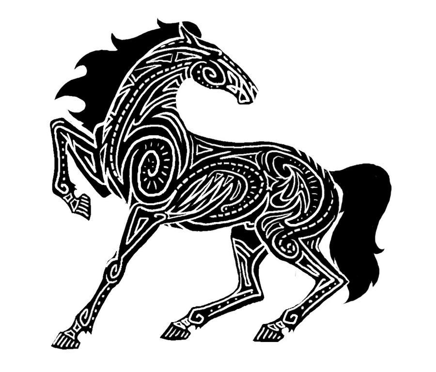 .Horse Design. by YamiKatt on DeviantArt