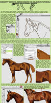Digital Horse PaintingTutorial by YamiKatt
