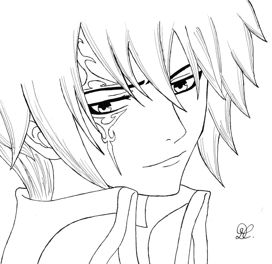 Jellal fairy tail by dia cris on deviantart - Fairy tail a colorier ...