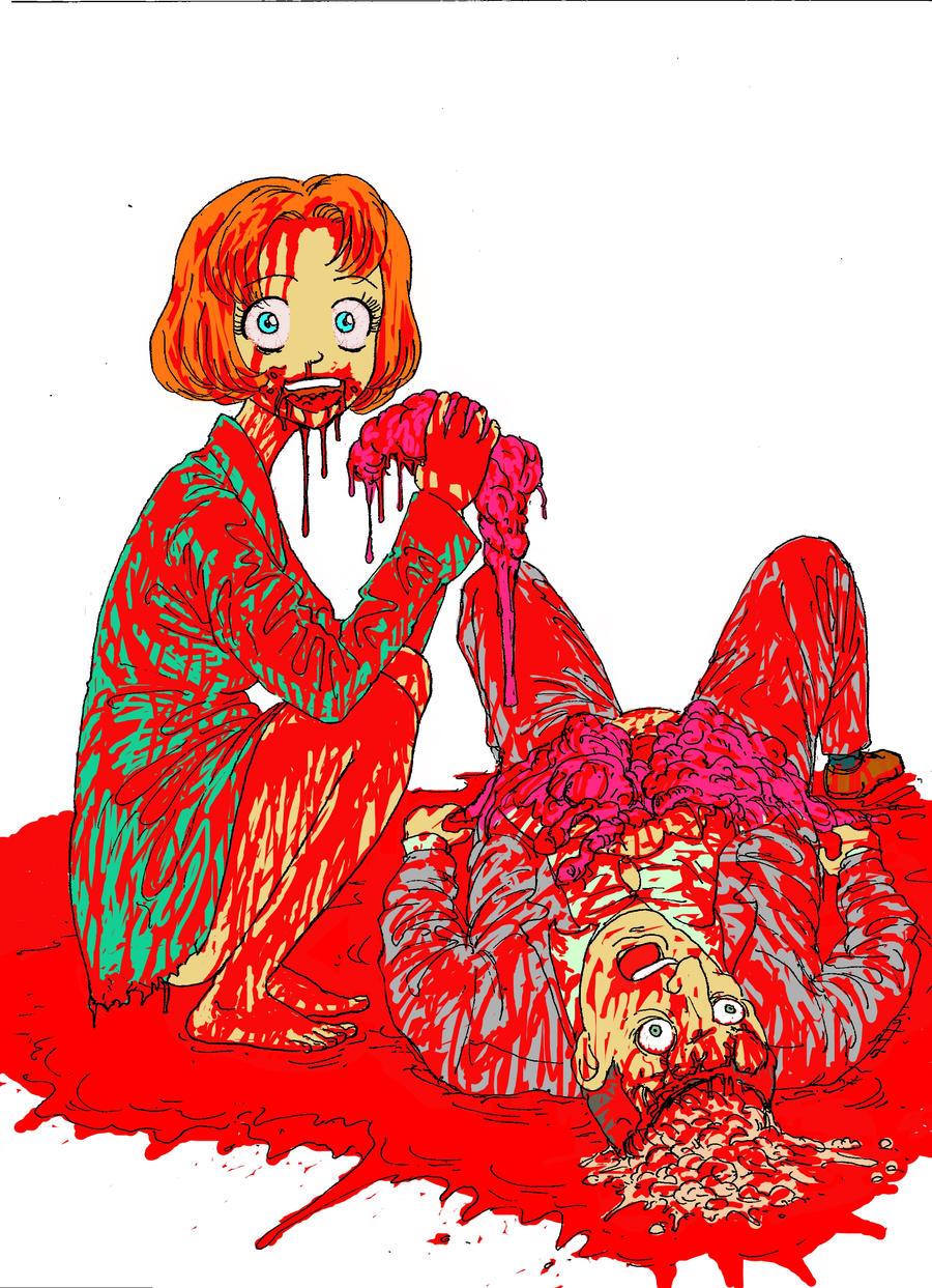 zombie girl by takena-n