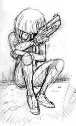cyborg girl by takena-n