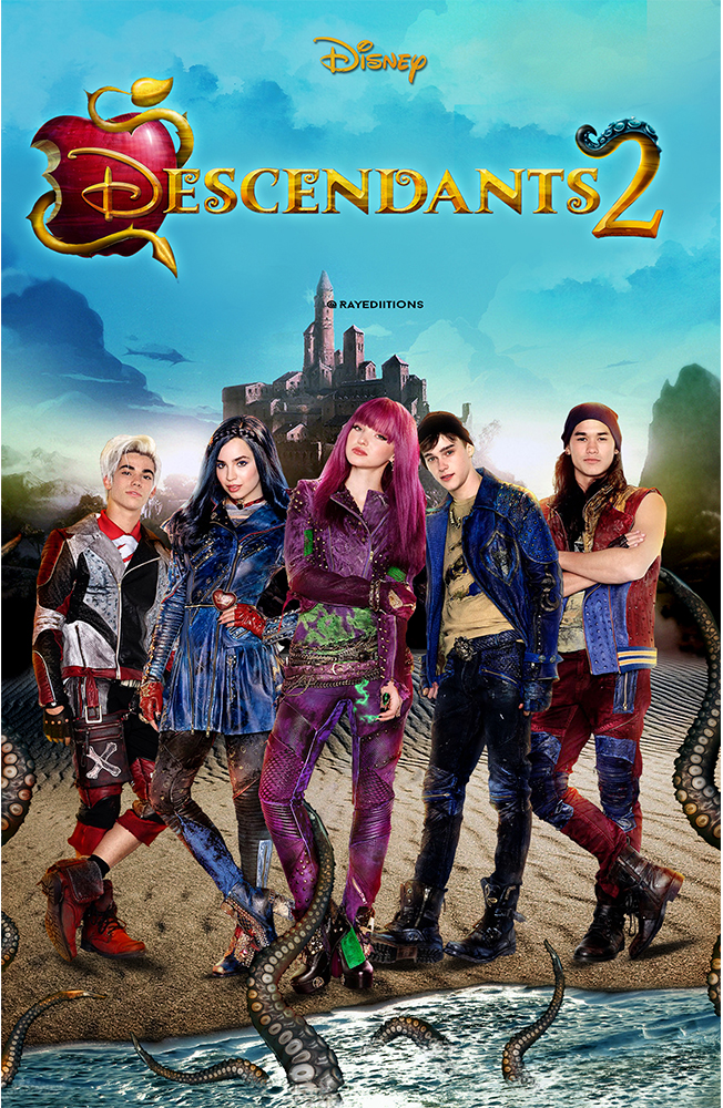 Descendants: Junior Novel by Disney Book Group Staff and Rico Green (2015, Hardc