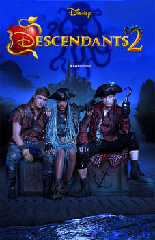 Descendants 2 Fanmade Poster