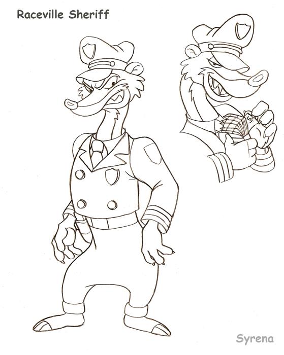 Raceville Sheriff by SlayerSyrena