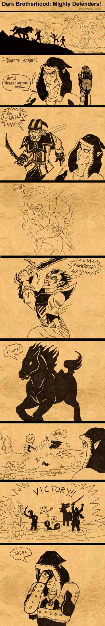 Dark Brotherhood Mighty Defenders by SlayerSyrena