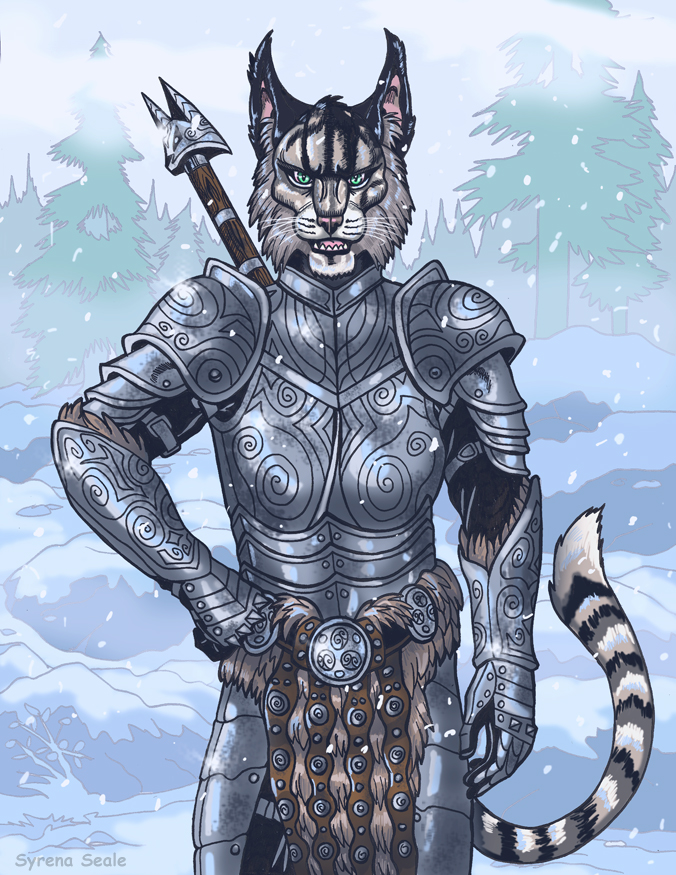 Kharjo the Traveling Warrior by SlayerSyrena