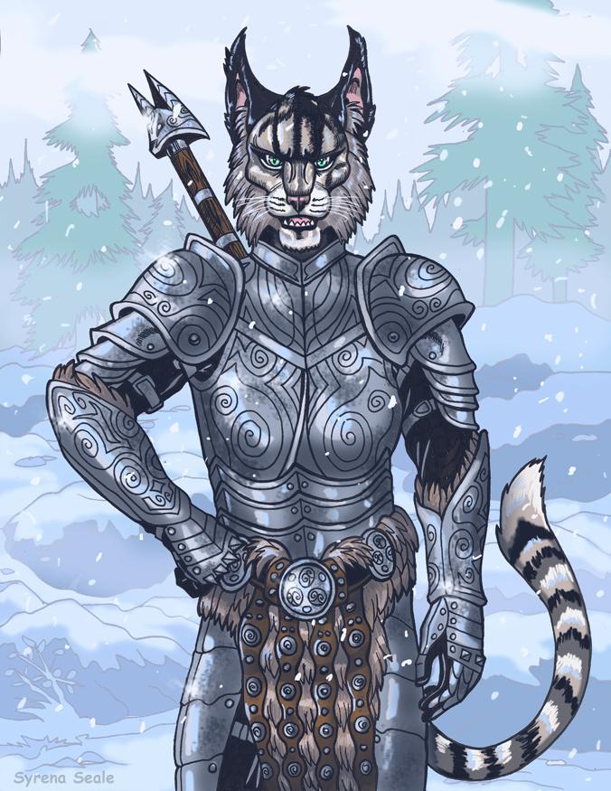 Kharjo the Traveling Warrior by SlayerSyrena