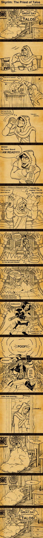 Skyrim The Priest of Talos by SlayerSyrena