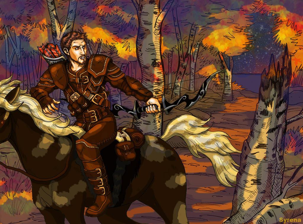 Bron's Getaway by SlayerSyrena
