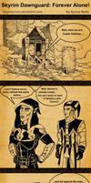 Skyrim Dawnguard: Forever Alone!