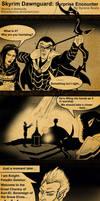 Skyrim Dawnguard Surprise Encounter