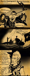 Skyrim Dawnguard Surprise Encounter by SlayerSyrena