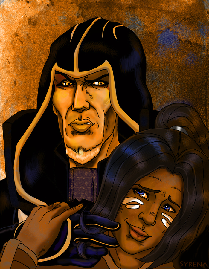 Ondolemar and Kiara by SlayerSyrena