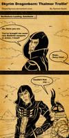Skyrim Dragonborn Thalmor Trollin'